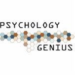Genio de la psicología escultura fotográfica
