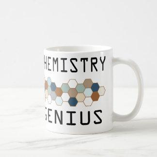 Genio de la química del polímero taza
