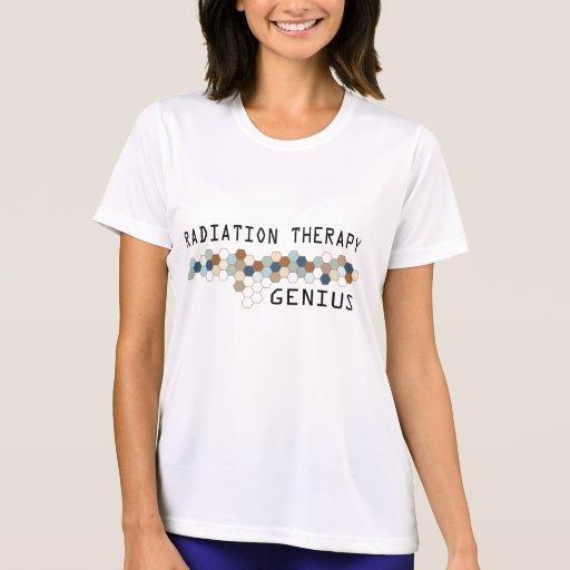 Genio de la radioterapia camisetas