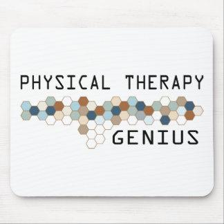 Genio de la terapia física tapetes de ratones
