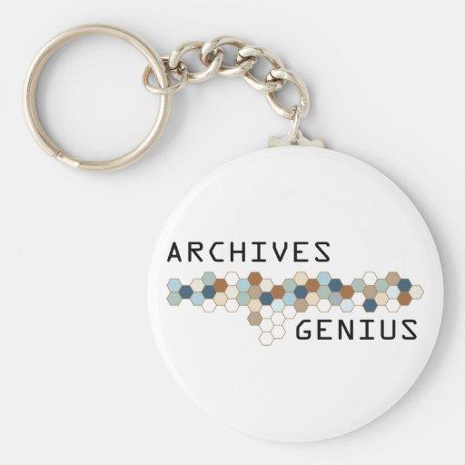 Genio de los archivos llaveros