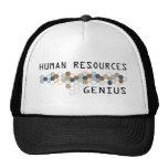 Genio de los recursos humanos gorras de camionero