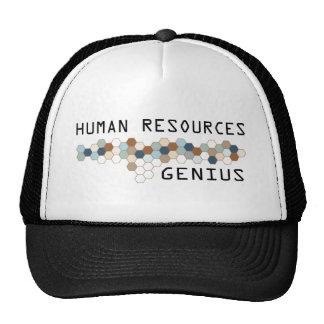 Genio de los recursos humanos gorro de camionero