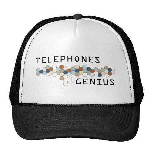 Genio de los teléfonos gorras