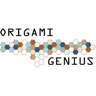 Genio de Origami Esculturas Fotograficas