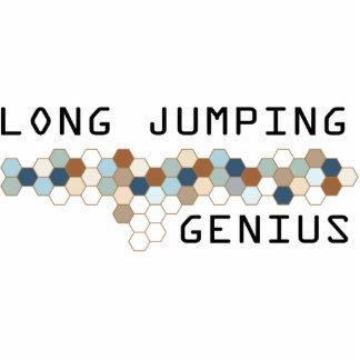 Genio de salto largo esculturas fotograficas