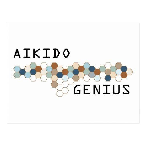 Genio del Aikido Postales