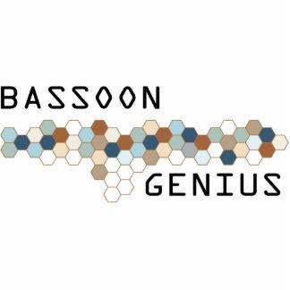 Genio del Bassoon Adorno Fotoescultura