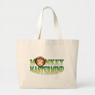 Genio del mono bolsas de mano