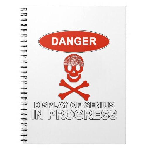 Genio del peligro notebook