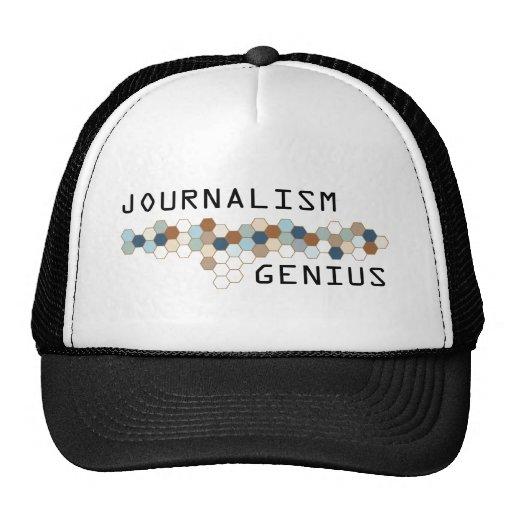 Genio del periodismo gorro de camionero