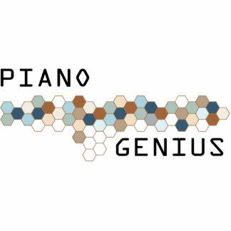 Genio del piano esculturas fotograficas