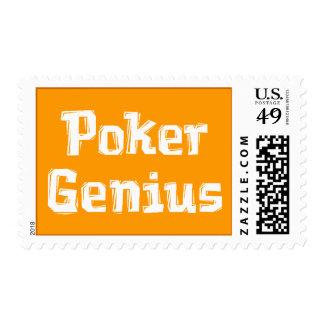 Genio del póker franqueo