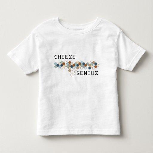 Genio del queso tee shirt