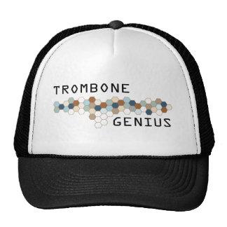 Genio del Trombone Gorros Bordados