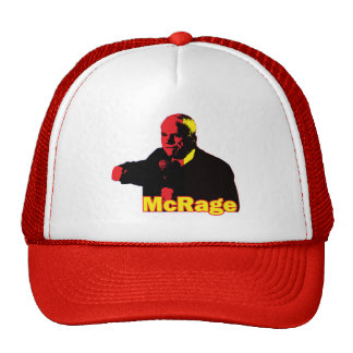 Genio divertido de McCain McRage de la parodia Gorras De Camionero