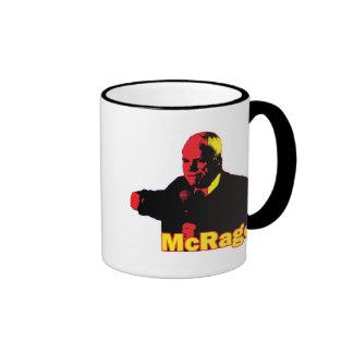 Genio divertido de McCain McRage de la parodia, pa Taza De Café