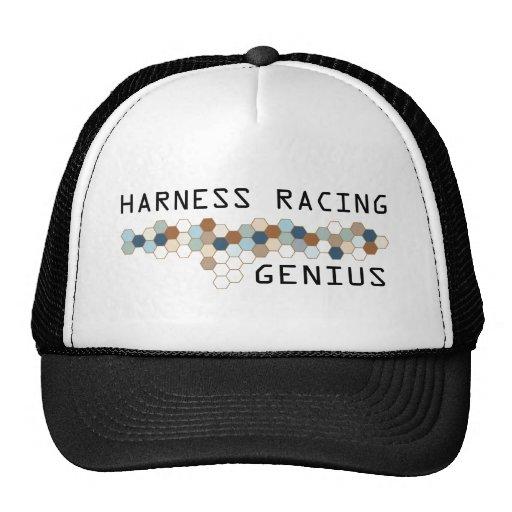Genio el competir con de arnés gorras de camionero