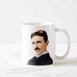 Genio eléctrico de Nikola Tesla Taza De Café