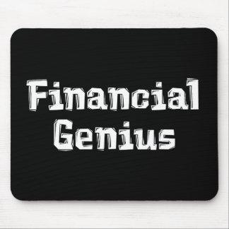 Genio financiero Mousepad