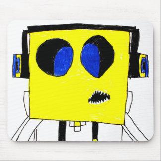 Genio fresco del videojugador del muchacho - dibuj mousepad