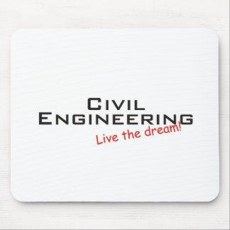Genio ideal/civil tapetes de ratón