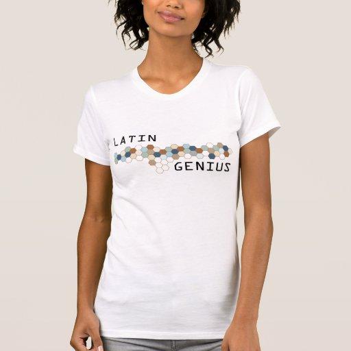 Genio latino camiseta