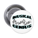 Genio musical pin