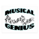 Genio musical postal