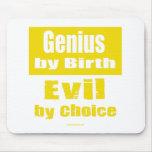 Genio por el nacimiento, mal por la opción alfombrilla de ratones