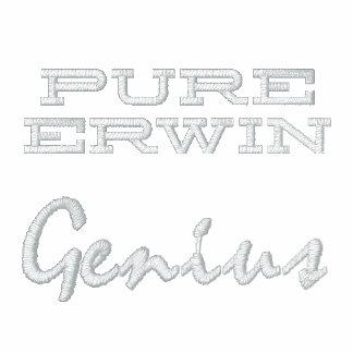 Genio puro de Erwin bordado Camiseta Polo