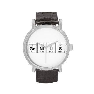 Genio Reloj De Mano