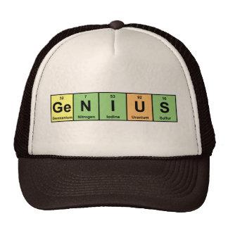 Genio - tabla periódica de productos de los elemen gorras