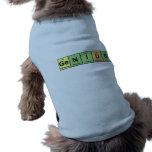 Genio - tabla periódica de productos de los elemen camisa de perrito