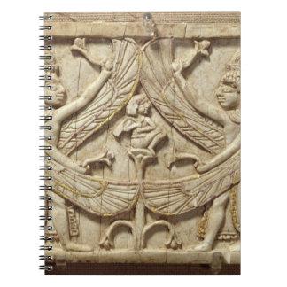 Genios cons alas, período asirio, c.750 A.C. (marf Libros De Apuntes Con Espiral