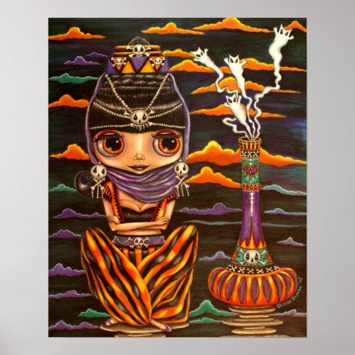 Genios y los gatitos del fantasma póster