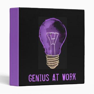 Genius at Work 3 Ring Binder
