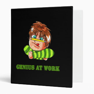 Genius At Work Binder