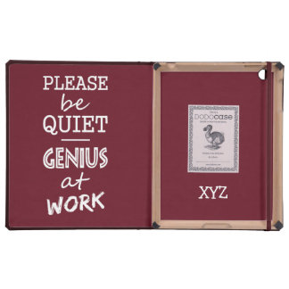 Genius at Work custom monogram & color cases