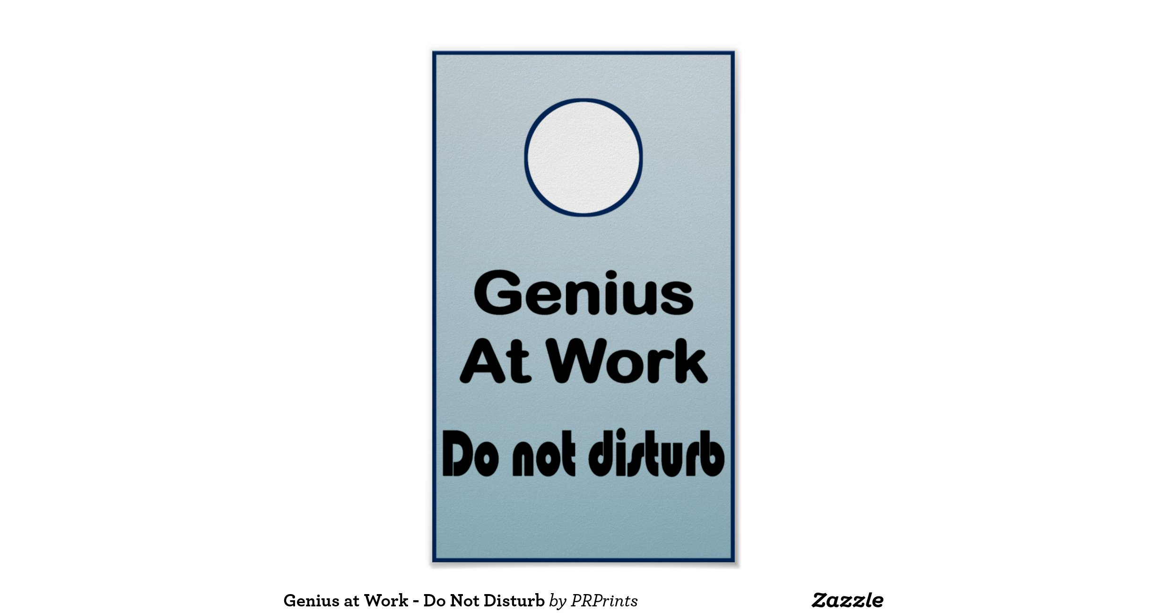 Geniusatworkdonotdisturbposter