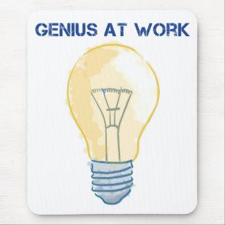 Genius At Work Mouse Pad