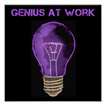 Genius at Work Poster