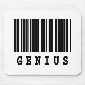 genius barcode design mouse pad