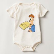 Genius boy baby bodysuit