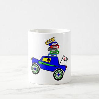 Genius Boy Driving Car Coffee Mug