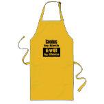 Genius by birth, evil by choice apron