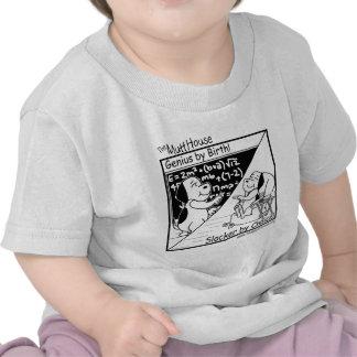 Genius By Birth T Shirts
