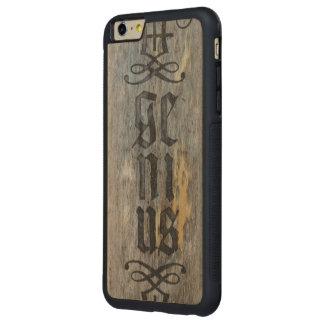 Genius Carved iPhone 6 Plus Case Carved® Maple iPhone 6 Plus Bumper Case