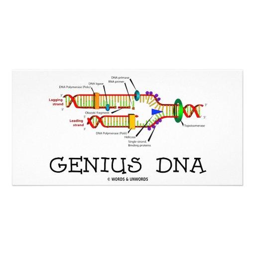 Genius DNA (DNA Replication Humor) Photo Cards