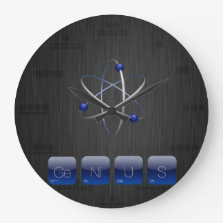 GENIUS Geek for Geek Periodic Table Wall Clock